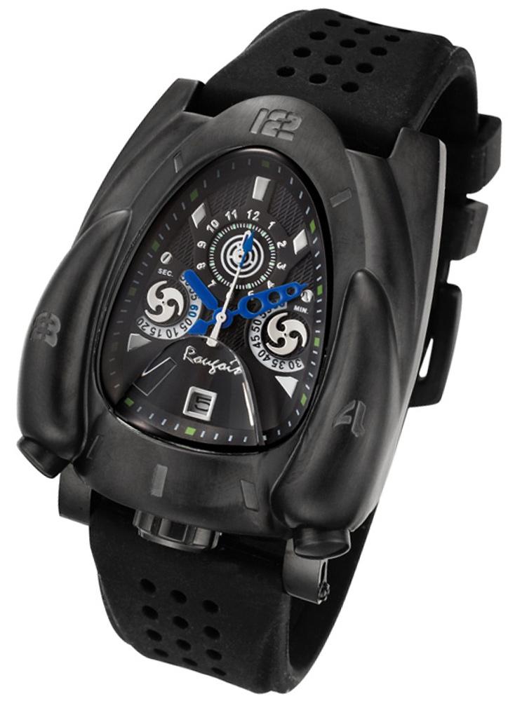 Rougois Black & Blue Rocket Watch